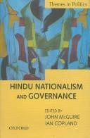Cover of: Hindu nationalism and governance |