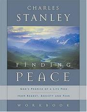 Cover of: Finding Peace Workbook