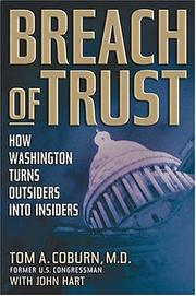 Breach of Trust by Tom A. Coburn, John Hart