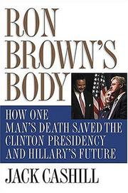 Cover of: Ron Brown's body | Jack Cashill