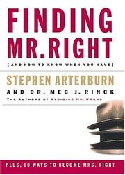 Cover of: Finding Mr. Right: And How to Know When You Have