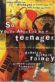 Cover of: So You're About to Be a Teenager | Familylife