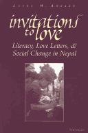 Cover of: Invitations to Love | Laura M. Ahearn