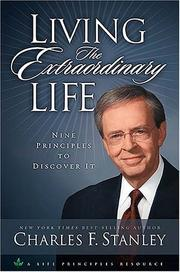 Cover of: Living the extraordinary life