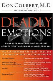 Cover of: Deadly Emotions