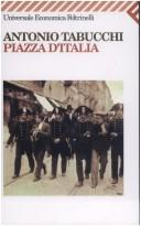Cover of: Piazza d'Italia