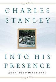Cover of: Into His Presence
