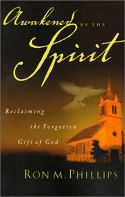 Cover of: Awakened by the Spirit: reclaiming the forgotten gift of God