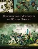 Cover of: Revolutionary Movements in World History | James DeFronzo