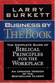 Cover of: Business by the book