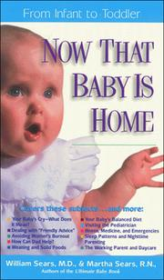 Cover of: Now that baby is home