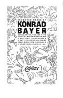 Cover of: Selected works of Konrad Bayer