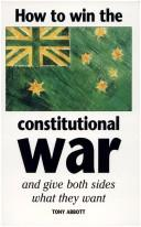 Cover of: How to win the constitutional war