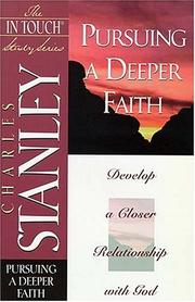 Cover of: Pursuing a deeper faith