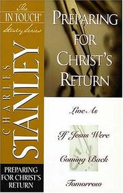 Cover of: Preparing for Christ's return
