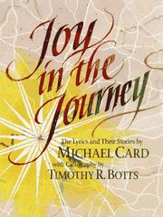 Cover of: Joy in the journey