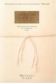 Cover of: The parable of joy: reflections on the wisdom of the book of John