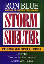 Cover of: Storm shelter | Ron Blue