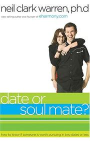 Cover of: Date-- or soul mate?