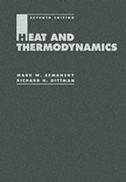 Cover of: Heat and thermodynamics