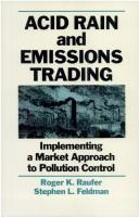 Cover of: Acid rain and emissions trading