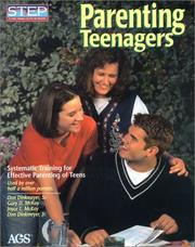Cover of: Parenting teenagers |