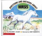 Cover of: Questions and Answers About Horses | Millicent E. Selsam