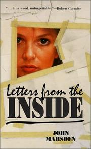 Cover of: Letters from the Inside | John Marsden undifferentiated