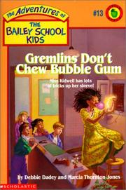 Cover of: Gremlins Don