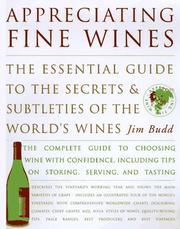 Cover of: Appreciating Fine Wines | Jim Budd
