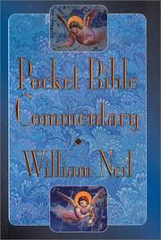 Cover of: Pocket Bible Commentary | William Neil