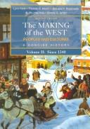Cover of: The making of the West |