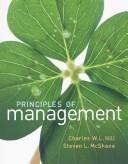 Cover of: Principles of Management
