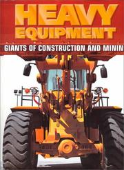Cover of: Heavy Equipment