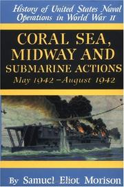 Cover of: Coral Sea, Midway and Submarine actions