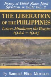 Cover of: The Liberation of the Philippines