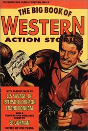 Cover of: The Big Book of Western Action Stories | Jon Tuska