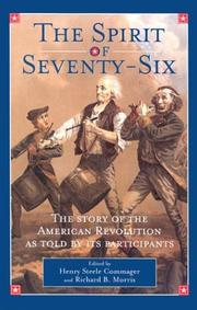 Cover of: The Spirit of Seventy-Six |