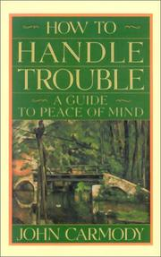 Cover of: How to handle trouble