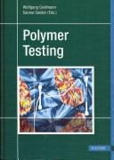 Cover of: Plastics Testing |