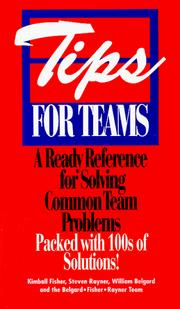 Cover of: Tips for Teams | Kimball Fisher