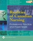 Cover of: Realities of Canadian nursing | [edited by] Marjorie McIntyre, Elizabeth (Betty) Thomlinson, Carol McDonald.