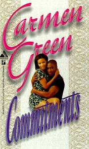 Cover of: Commitments (Arabesque) | Carmen Green