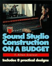 Cover of: Sound studio construction on a budget
