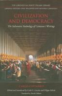 Cover of: Civilization and democracy