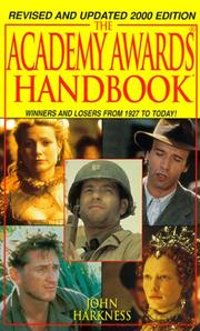 Cover of: The Academy Awards Handbook