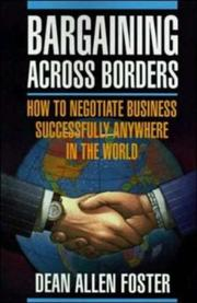 Cover of: Pbs Bargaining Across Borders | Dean Allen Foster