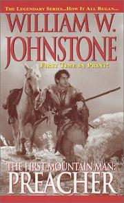 Cover of: The first mountain man | William W. Johnstone