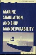 Cover of: Marine Simulation & Ship Manoeuvrability