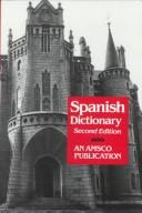 Cover of: New College Spanish and English Dictionary (An Amsco school publication) | Edwin B. Williams